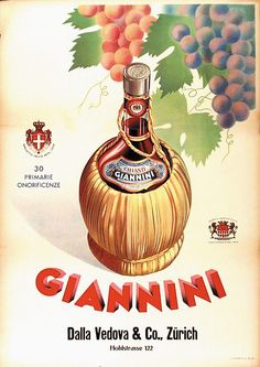 Giannini Retro Ads, Vintage Ads, Vintage Posters, Vintage Prints, Italian Posters, How To Memorize Things, Beverage, Advertising, Italy