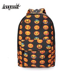 697b25055322c Osmond Women Backpacks Fashion Teenage Oxford Shoulder Backpack Children School  Bags Cute Smile Girls Mochilas Travel Back Pack-in Backpacks from Luggage  ...