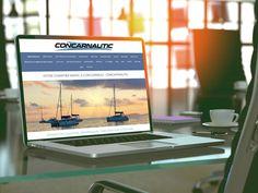 Concar'nautic possède une vaste activité. Il achète, vend répare, entretient et loue des bateaux en Bretagne. Pour exposer toutes ses prestations, nous lui avons proposé de réaliser son site : http://www.concarnautic.com.