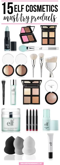 15 Elf Cosmetics Must Try Products! Elf is an affordable brand, with awesome products that have launched that will fill your beauty loving soul!