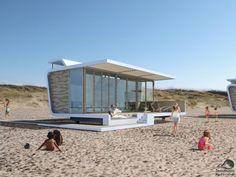 Strandhuisjes-Cadzand-Zeeland