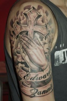 261 Best Praying Hands Tattoo Images Praying Hands Tattoo Hand