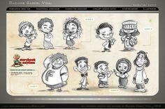Mariano Gabriel Vidal,one of my favorite character designer/ animator. http://marianogabrielvidal.blogspot.com/p/animation-artistic-samples.html