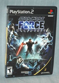 Star Wars Force Unleashed PlayStation 2 Video Game (Darth Vader Play Station) #RivalMadness