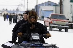 U.S. Census Bureau director Robert Groves is shuttled around the Inupiat Eskimo village of Noorvik, Alaska to conduct the first interviews of the 2010 census. The census is conducted in remote Alaska earlier than the rest of the country so dogsleds, all-terrain vehicles and snowmobiles can reach remote villages.  Learn more at http://www.census.gov/history