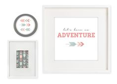 lets have an adventure home printable decor