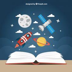 Космос, ракет, спутник