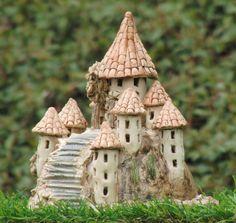 Windlichter - Burg Keramik Windlicht - ein Designerstück von Nandomo-23 bei DaWanda