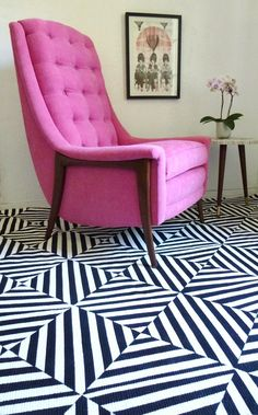 love the rug, and the chair