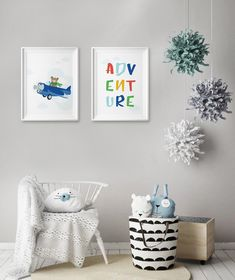 This amazingly cute Adventure Set of poster fits kids room or any other room :) Looks best when framed. All Illustrations were made by us, LadiesMinimal from scratch, without using any premade elements. Exercise For Kids, Other Rooms, Art For Kids, Kids Room, Inspirational Quotes, Illustrations, Adventure, Wall Art, Trending Outfits