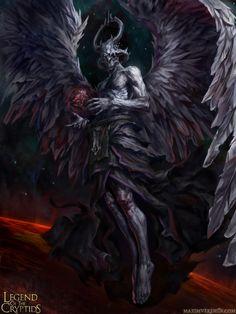 """Chronos- Regular"" by Maxim Verehin | Legend of the Cryptids | #Fantasy #Creatures"