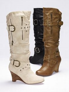 Not Rated Hiding Place Wedge Boot #VictoriasSecret http://www.victoriassecret.com/shoes/all-boots/hiding-place-wedge-boot-not-rated?ProductID=70706=OLS?cm_mmc=pinterest-_-product-_-x-_-x