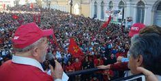 """Fonte: Lula, no RS: querem destruir tudo o que Getúlio fez – TIJOLAÇO   """"A política, sem polêmica, é a arma das elites."""""""