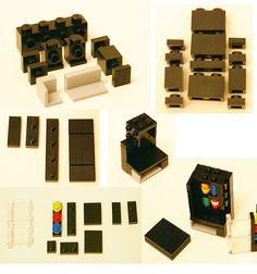 Macchinette per le merendine - montaggio LEGO
