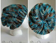 Unisex Hipster Hat in Tunisian Crochet – Jarta Jasmine Design