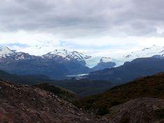 Mirador Ferrier na patagônia Chilena