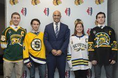 Meet the players chosen for December's Captain Spotlight! #Blackhawks
