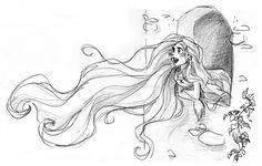 disney sketches | ... • discuss disneyland paris! • View topic - Tangled (Disney 2010