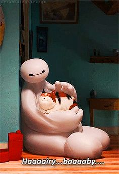 Tastefully Offensive on Tumblr, briannathestrange: Baymax from 'Big Hero 6' is...
