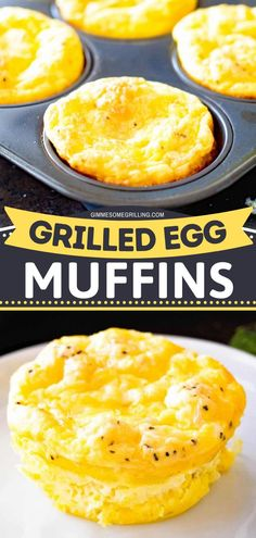 Want something new to try for holiday brunch? These egg muffins are sure to be a hit with friends and family. Light, fluffy eggs with cheese and ham made in a muffin tin. Make this for Christmas morning!