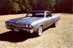1968 Chevrolet El Camino SS.