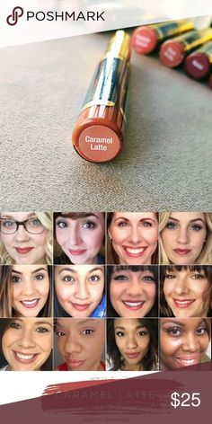 LipSense Caramel Latte LipSense Caramel Latte  brand new, never opened. Long lasting, smudge-proof lip color that is NOT a stain.  If you've never used LipSense before, be sure to bundle with the gloss - it won't seal without it. No trades or offers SeneGence Makeup Lipstick