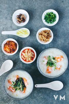 Vegan Taiwanese Congee with Sweet Potato