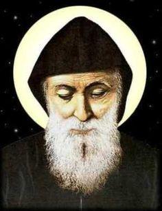 Mystics of the Church: Saint Charbel (Sharbel) Makhlouf-The Maronite Monk Catholic Gifts, Catholic Art, Catholic Churches, Maronite Church, Syrian Christians, St Charbel, Classic House Design, Santa Teresa, The Monks