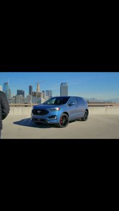 Ford Edge St So This Is Happening Jalopnik Ford Fordedge