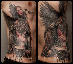 The 29 best Angels Rib Tattoos For Guys images on Pinterest | Rib ...