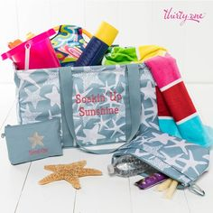 Summer time is here!  Don't you love the new starfish products, patterns and personalization?