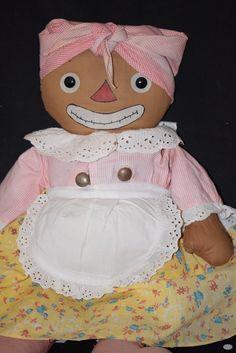 Old Doll Cloth Georgene Beloved Belindy Signed Original Clothes