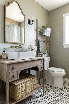 More ideas below: BathroomRemodel Small Bathroom Remodel On A Budget DIY Bathroom Remodel Ideas With Tub Half Paint Bathroom Shower Remodel Master Tile Farmhouse Bathroom Remodel Rustic Bathroom Remodel Before And After Diy Bathroom, Guest Bathroom, Beautiful Bathroom Renovations, Bathroom Renovations, Modern Farmhouse Bathroom, Bathrooms Remodel, Beautiful Bathrooms, Bathroom Inspiration, Farmhouse Bathroom Decor
