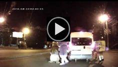 Mickey Mouse y Bob Esponja propinan una brutal paliza a un conductor - TVEstudio