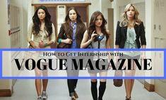 How to Get Internship with Vogue Magazine: Complete Guide - WiseStep Popular Magazine, Vogue Magazine, Job Seekers, Motivational