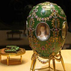 The Fabergè Alexander Palace egg 1908