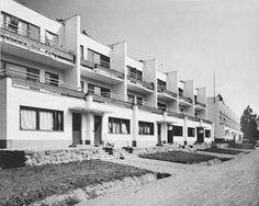 Sunila dwellings, Alvar Aalto