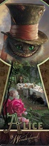Alice in Wonderland (make a shadow box of key wholes where when you look through one you will see different scences from the movie