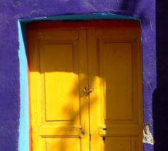 got to paint the front door - back door is a natural patina green