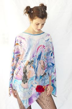 """""""Happy Date"""" Hand painted tunic"""