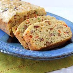 Bacon, Egg & Veggie Loaf