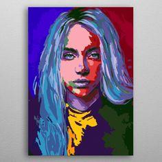 Billie Eilish Singer Painting Artwork Art Paint By Numbers Kit DIY Kids
