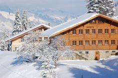 Our Chalet <3 Adelboden, Switzerland - My picture someone pinned. :) :) :)