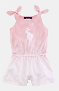 Ralph Lauren Ombré Romper (Infant) available at Nordstrom