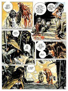 Heart Bit, Serpieri, Fantasy Comics, My Character, Post Apocalyptic, Reading Online, Sci Fi, Illustration, Movie Posters