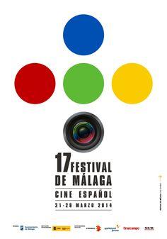 Festival de Málaga. Cine Español 17 2014. Cartel Ganador. 21- 29 March