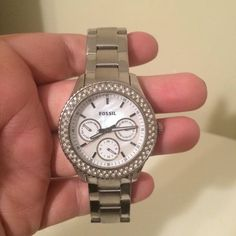 Fossil watch. Solved with iridescent face Fossil Accessories Watches