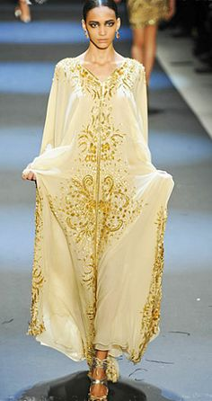 Naeem Khan beaded kaftan