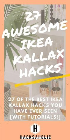 There are so many great Ikea Kallax hacks out there but which are the best? We've brought together the very best Ikea Kallax hacks for you in one place. You can create so many gorgeous and practical pieces of furniture with an Ikea Kallax. Ikea Kallax Hack, Ikea Billy Hack, Ikea Kallax Shelf, Ikea Hackers, Ikea Malm, Eco Furniture, Ikea Furniture Hacks, Furniture Websites, Furniture Dolly