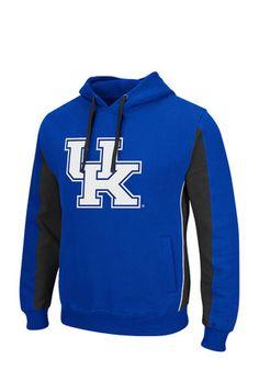 Colosseum Kentucky Mens Blue Thriller II Hooded Sweatshirt